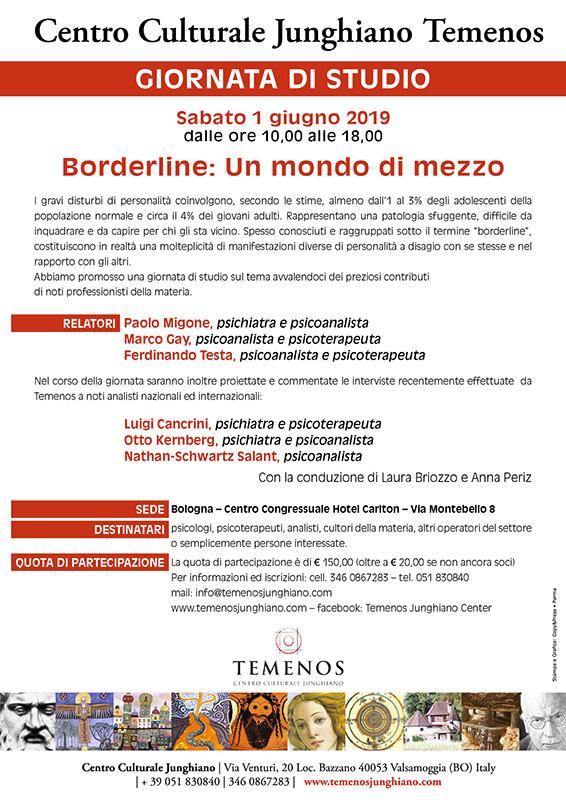Borderline, un modo di mezzo, Bologna